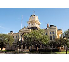 Bell Co. Courthouse, Belton, Tx. 1884 Photographic Print