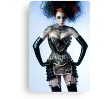 Ulorin Vex - Black Lace Canvas Print