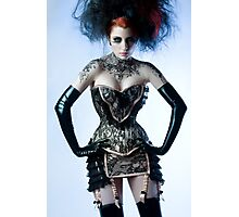Ulorin Vex - Black Lace Photographic Print