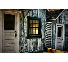 "Fishermen""s Shacks Photographic Print"