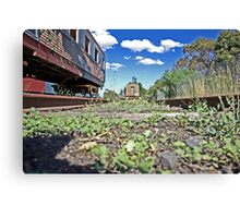 Track Side Canvas Print