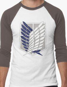 SNK SURVEY CORPS EMBLEM Men's Baseball ¾ T-Shirt