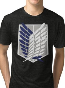 SNK SURVEY CORPS EMBLEM Tri-blend T-Shirt