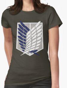 SNK SURVEY CORPS EMBLEM Womens Fitted T-Shirt