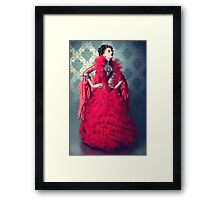 Red Queen II Framed Print