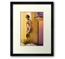 30s Glam V Framed Print