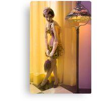 30s Glam V Canvas Print