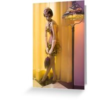 30s Glam V Greeting Card