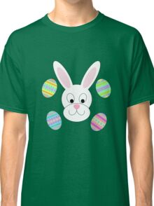 Easter Bunny with Easter Eggs Classic T-Shirt