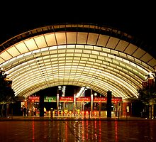 Olympic Park Station - Homebush, Sydney, NSW by Deanna Roberts Think in Pictures