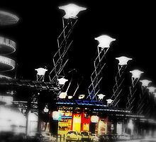 Olympic Lights by Deanna Roberts Think in Pictures