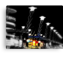Olympic Lights Canvas Print
