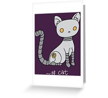 Angrybot: Prompt Cat Greeting Card