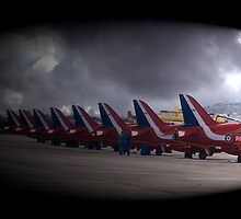 Red Arrows by Christian  Zammit
