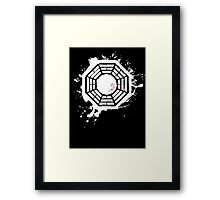 Lost in Ink Framed Print