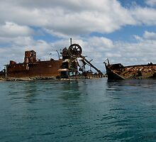 Wrecks on Moreton Island, Queensland. #3 by CazzP
