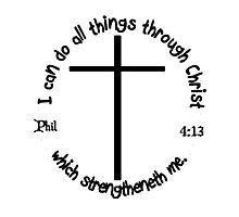 PHILLIPIANS 4:13 Photographic Print