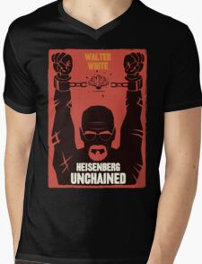Heisenberg Unchained Mens V-Neck T-Shirt