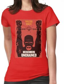 Heisenberg Unchained Womens Fitted T-Shirt