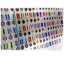 Ribbons of Honor Poster