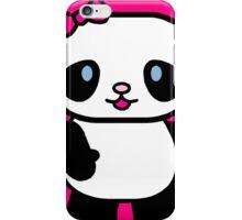 Cartoon Panda iPhone Case/Skin