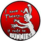 I have a theory; it could be bunnies. by Anna Welker