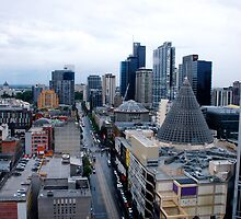 La Trobe Street, Melbourne by gigglemonster
