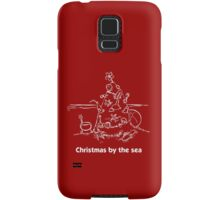 Christmas by the sea Samsung Galaxy Case/Skin
