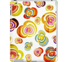 Funny and sunny Flower design iPad Case/Skin