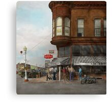 City - Dillon, Montana - Today's my day off - 1942 Canvas Print