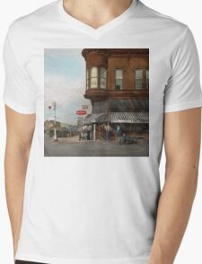 City - Dillon, Montana - Today's my day off - 1942 Mens V-Neck T-Shirt