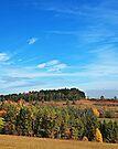 Hegau Countryside by Evelyn Laeschke