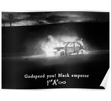 Godspeed you! Black emperor Poster