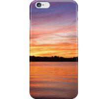 Sunset on Lake Lanier iPhone Case/Skin
