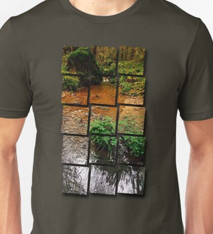 Little stream in autumn colors | landscape photography Unisex T-Shirt