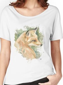 What does the fox say? Women's Relaxed Fit T-Shirt