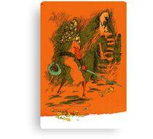 dungeon adventurer Canvas Print