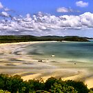 punsand bay cape york peninsular  by helmutk