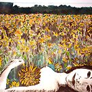 "Amy Loves Yellow by Belinda ""BillyLee"" NYE (Printmaker)"