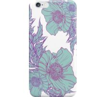Mint Poppies iPhone Case/Skin