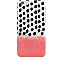 Lola - Abstract, pink, brushstroke, original, painting, trendy, girl, bold, graphic iPhone Case/Skin