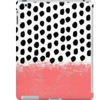 Lola - Abstract, pink, brushstroke, original, painting, trendy, girl, bold, graphic iPad Case/Skin
