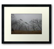 Howitt Plains Mist Framed Print