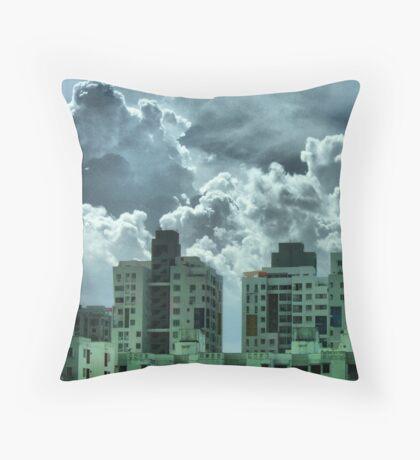 Cloud Homes Throw Pillow