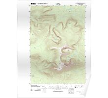 Maine USGS Historical Map Mount Katahdin 20110902 TM Poster