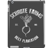 Schrute Beet Plantation iPad Case/Skin