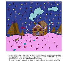 Silly Gingerbread by Monica Ellis