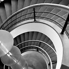 Curved Stairs by Dave Hare