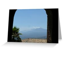 Mt Etna, Italy Greeting Card