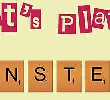 Let's play scrabble ! by Sara  Hassan